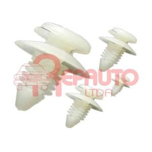 CLIPS DE TAPIZADO (KIT) 077.P0019 (20 UNIDADES) VOLKSWAGEN TODOS /86 / FIAT 128 / 147 / UNO