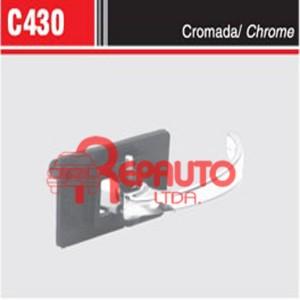 MANIJA INTERIOR DE PUERTA FIAT 124 / 125 / 128 / 1600 CROMADA