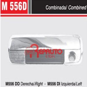 MANIJA EXTERIOR PUERTA FIAT 128CL / 147 COMBI. DEL. DER.