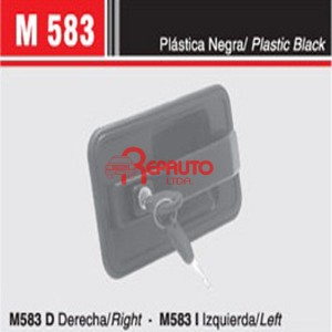 MANIJA EXTERIOR PUERTA FIAT DUCATO 93 C/ LLAVE DER.